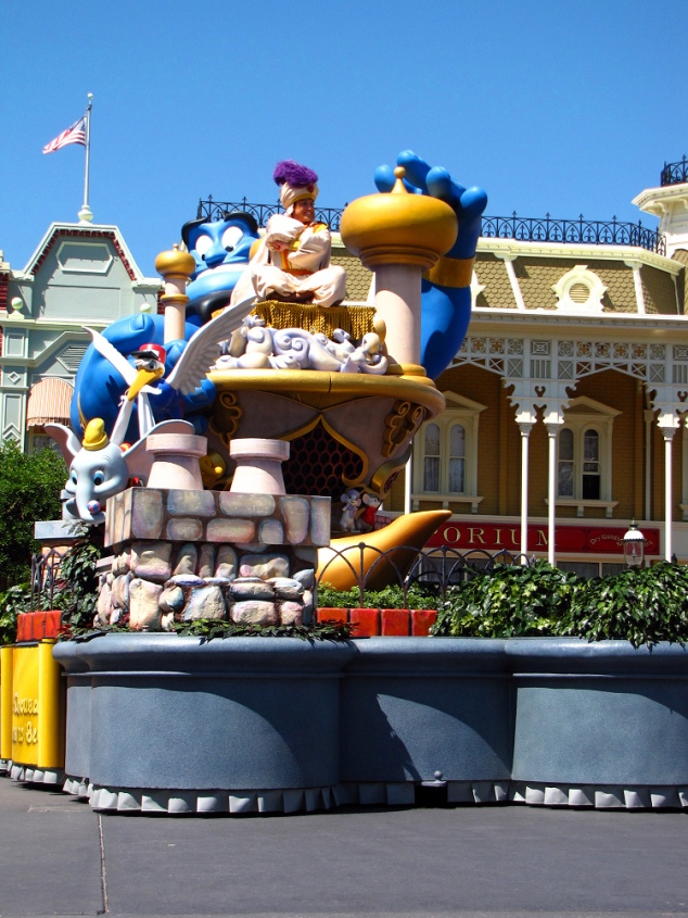 Aladdin Float - Celebrate a Dream Come True