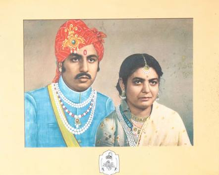 Royal Couple of Anandapur