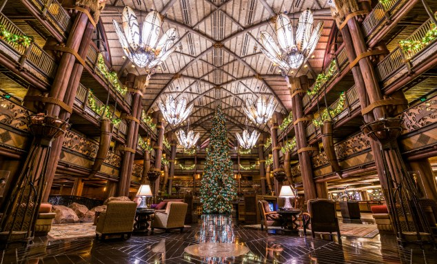 Animal Kingdom Lodge Christmas
