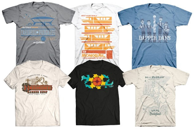 New attraction t-shirts