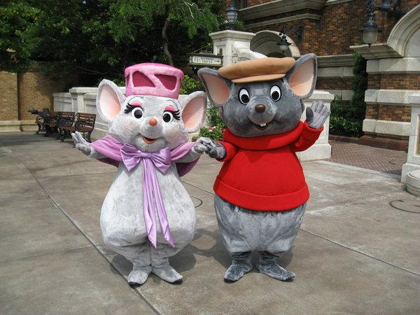 Bernard and Bianca - Tokyo Disneyland