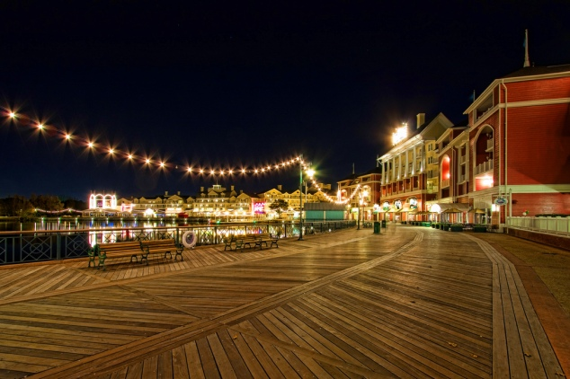 Disney's BoardWalk (photo by Jay Andruckow)
