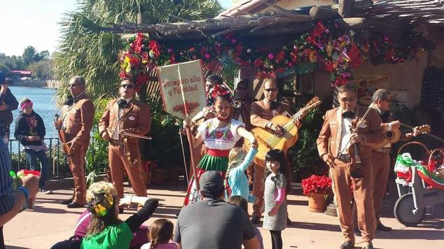 Mariachi Cobre at the Mexico Pavilion