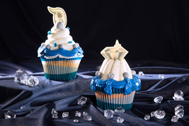 Cupcakes for Disneyland 60th