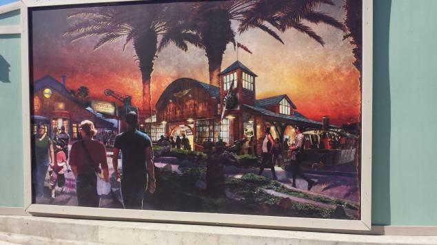 Disney Springs Construction 1