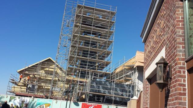 Disney Springs Construction 4