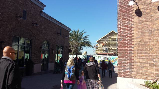 Disney Springs Construction 5