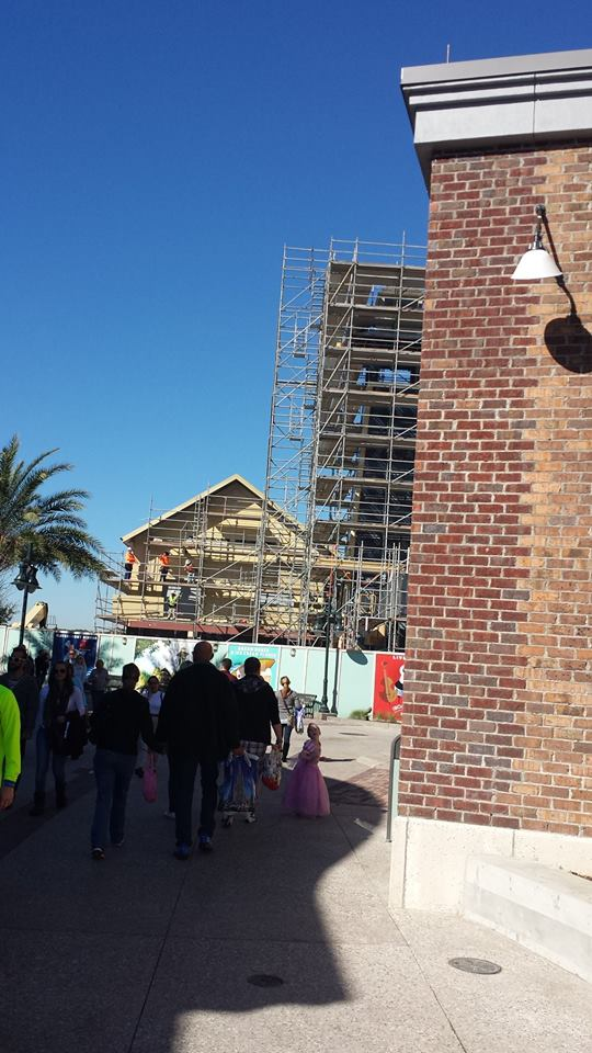 Disney Springs Construction 7