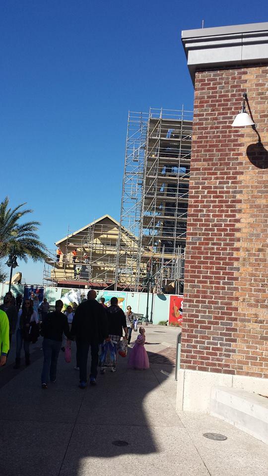 Disney Springs Construction 7