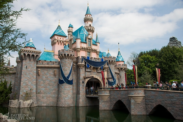 Disneyland Castle 60th 1