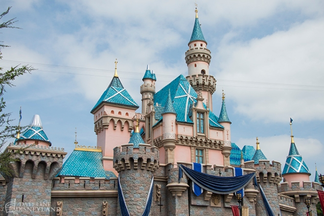 Disneyland Castle 60th 2