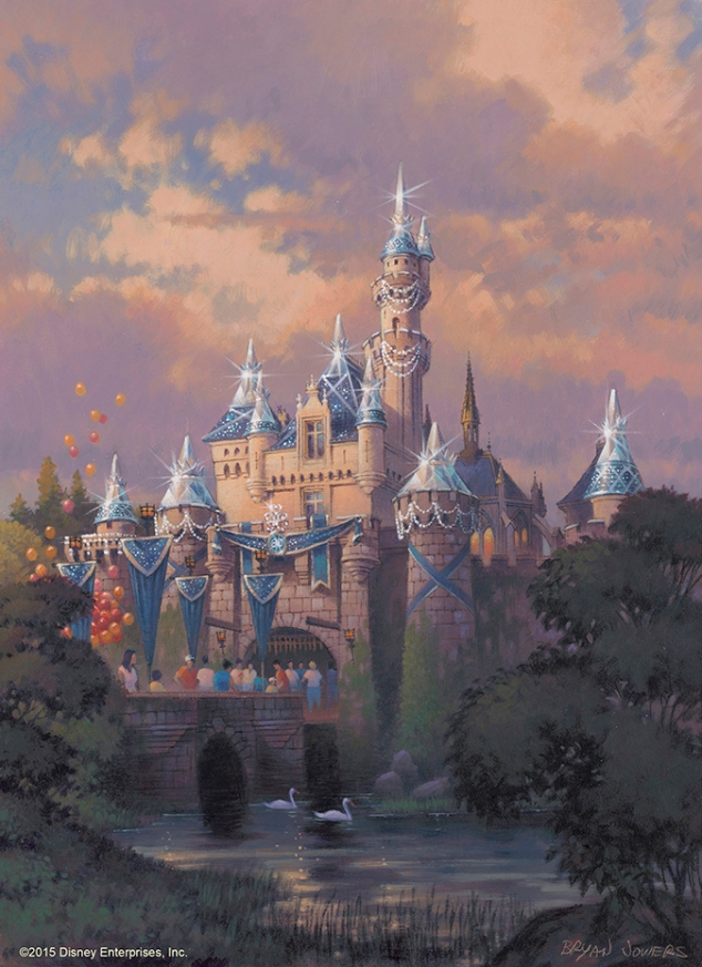 Disneyland Castle 60th Concept Art