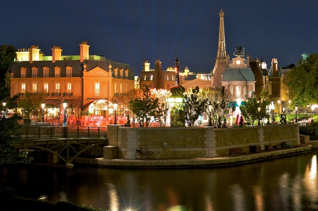 France Pavilion in World Showcase at Epcot (photo by Matt Pasant)