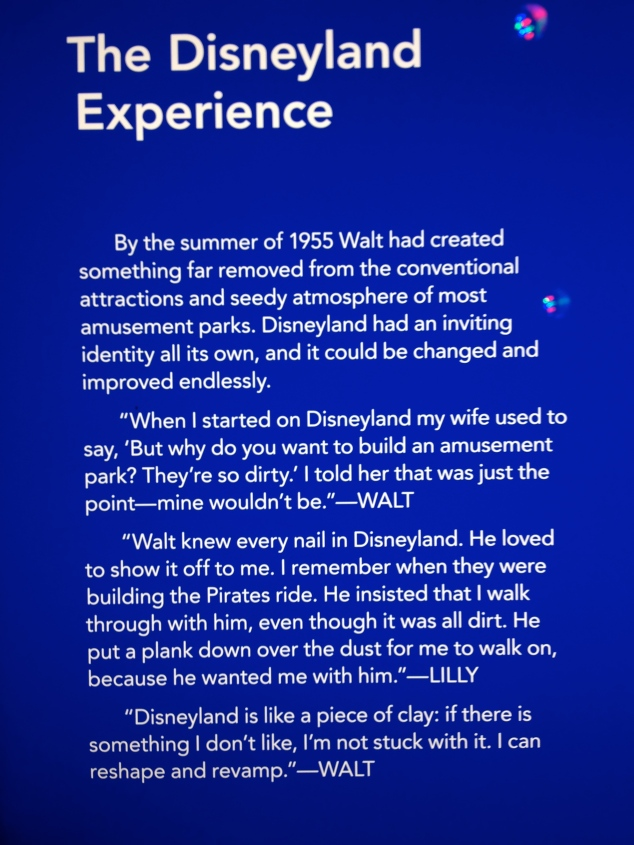Disneyland Experience Plaque in WDFM