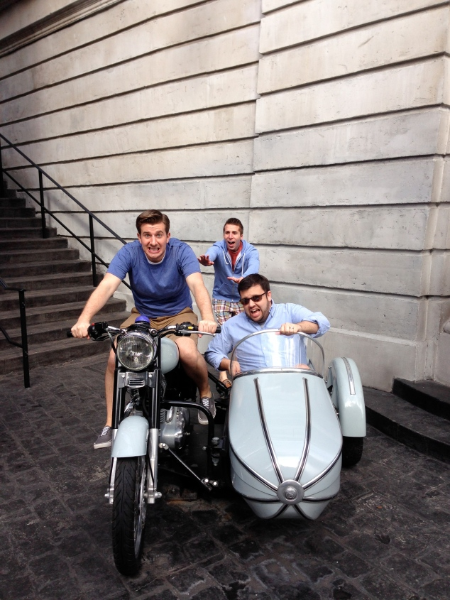Gringotts Motorcycle and Sidecar