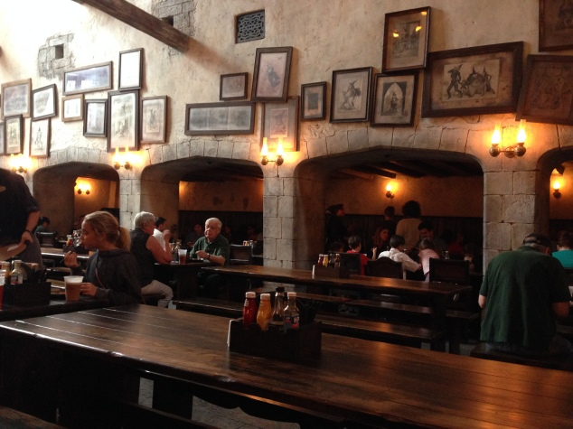 Inside Leaky Cauldron