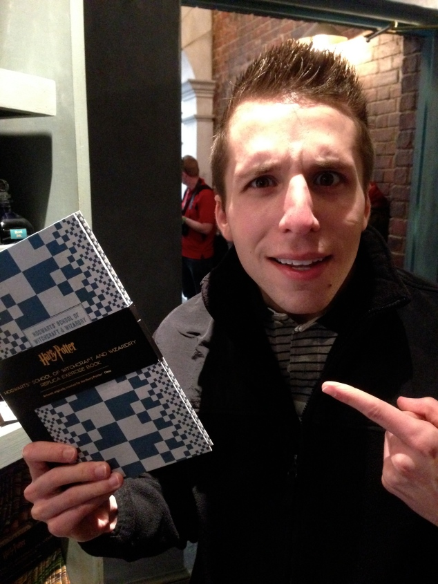 Harry Potter merchandise notebook
