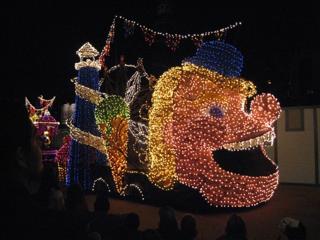 Pleasure Island Main Street Electrical Parade