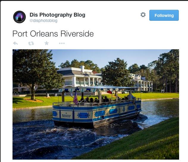 Port Orleans Boat