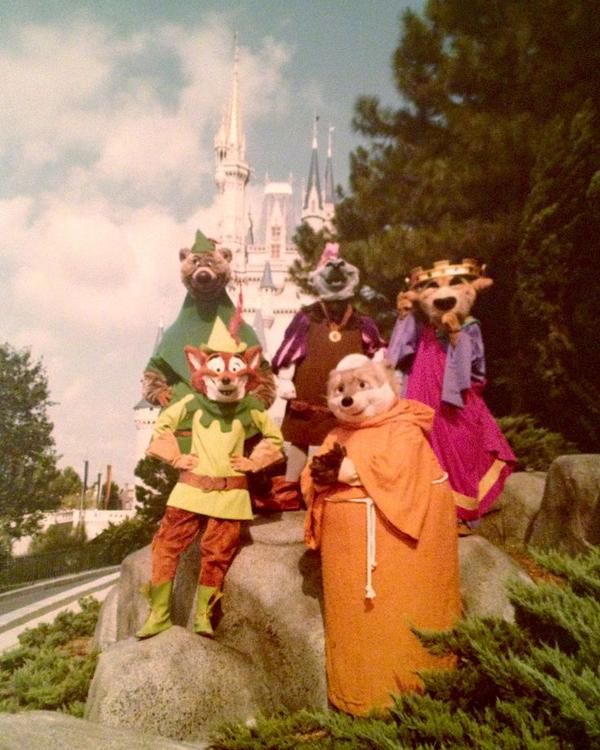 Robin Hood Characters in Magic Kingdom