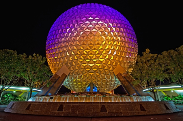 Spaceship Earth (photo by Cory Disbrow)