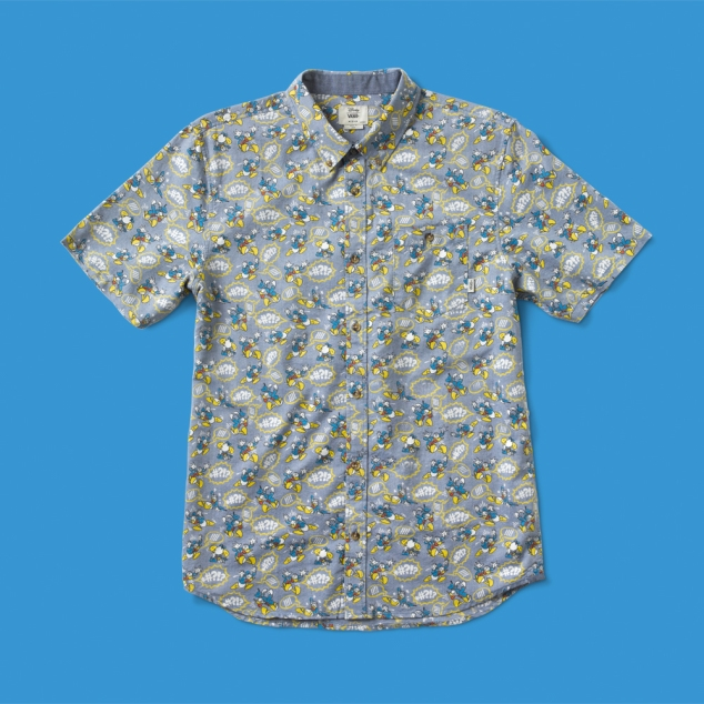 Vans Donald Duck Button Up