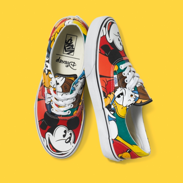 Vans Mickey Shoes