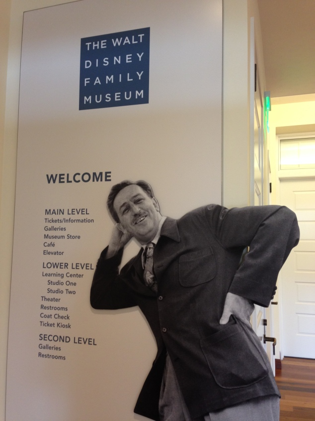 Walt Disney Family Museum Entrance
