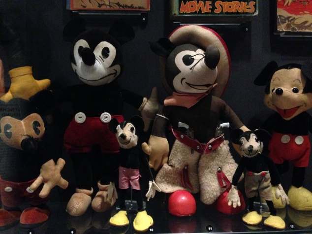Early Mickey Mouse dolls