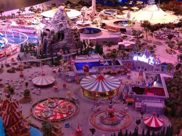 Walt Disney Family Museum Disneyland model 4