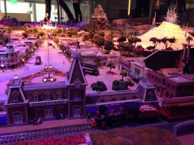 Walt Disney Family Museum Disneyland model 3