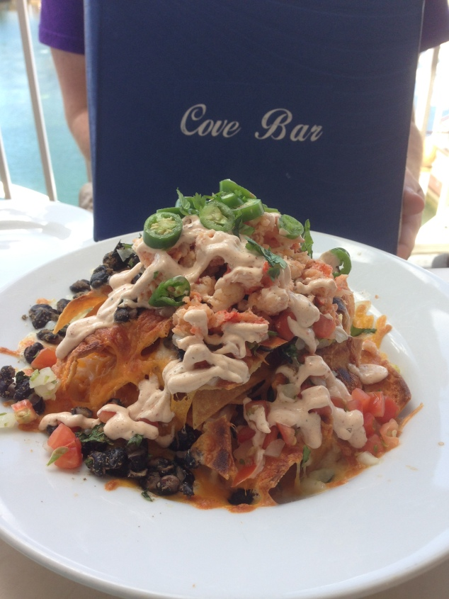Lobster Nachos Cove Bar