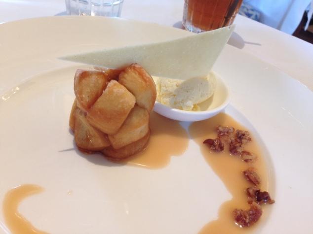 Monkey Bread Dessert at Club 33