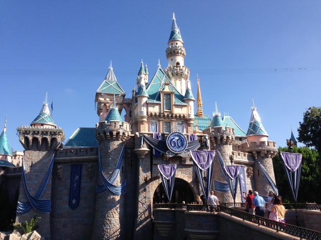 Disneyland 60 Diamond Sleeping Beauty Castle 1