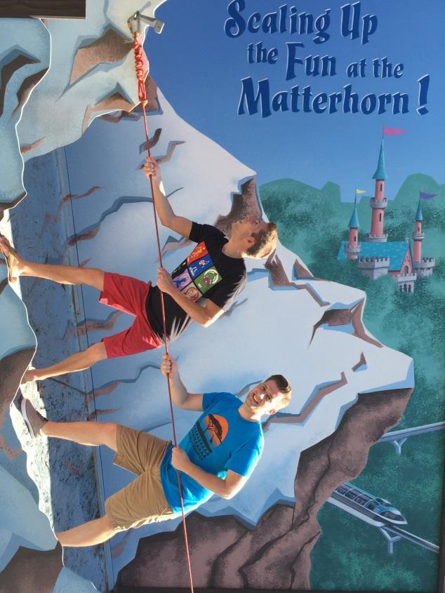 Disneyland 60 Matterhorn