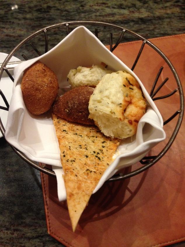 Bread Basket at Napa Rose