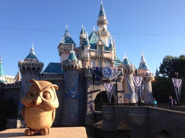 Disneyland 60 Diamond Sleeping Beauty Castle 2