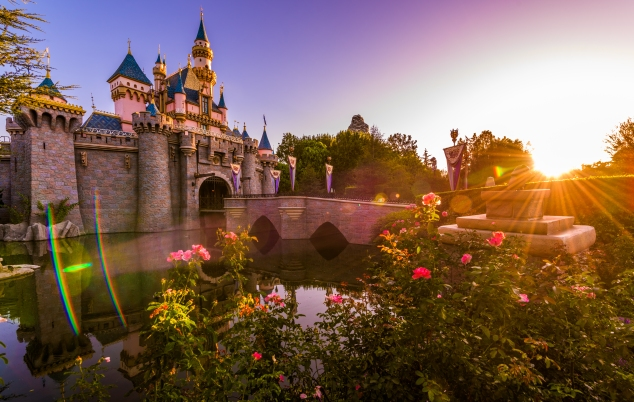 Sleeping Beauty Castle Dawn