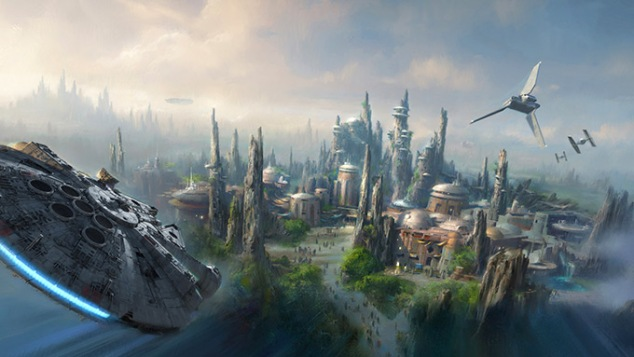 Star Wars Land Concept 1