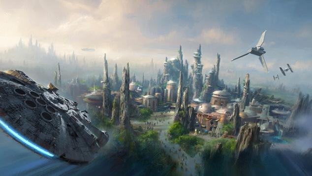 Star Wars Land Concept 1