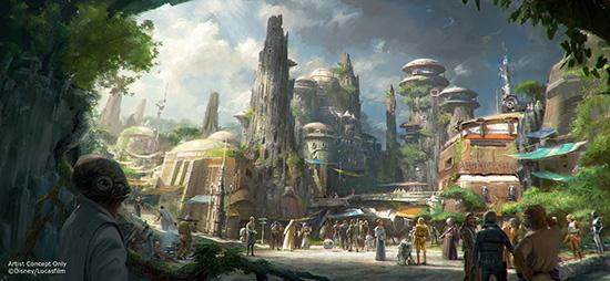 Star Wars Land Concept 2