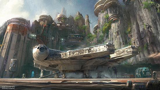 Star Wars Land Concept 3