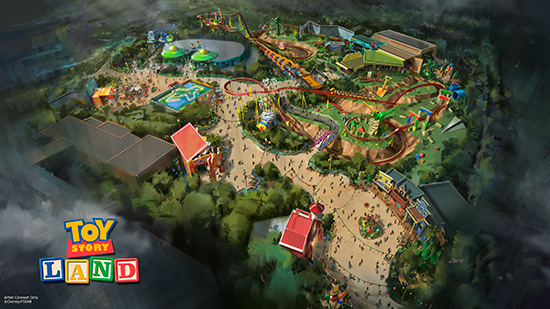Toy Story Land Concept 1
