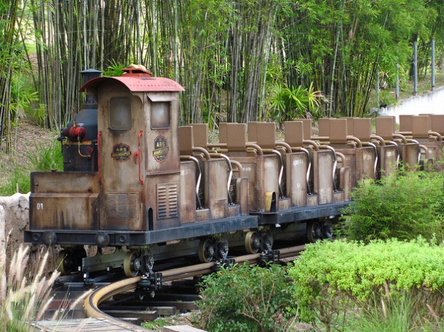 Expedition Everest Train