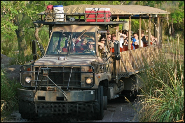 Kilimanjaro Safaris Jeep