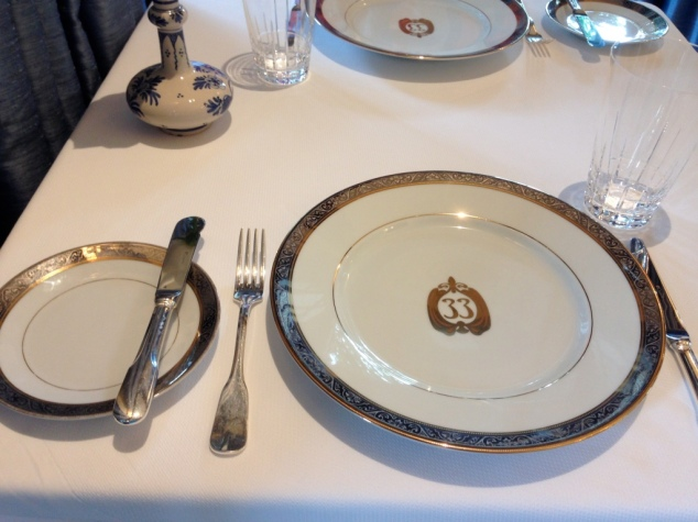Club 33 Place Setting