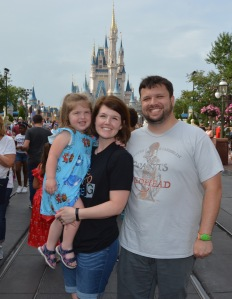 Matt's Family at MK
